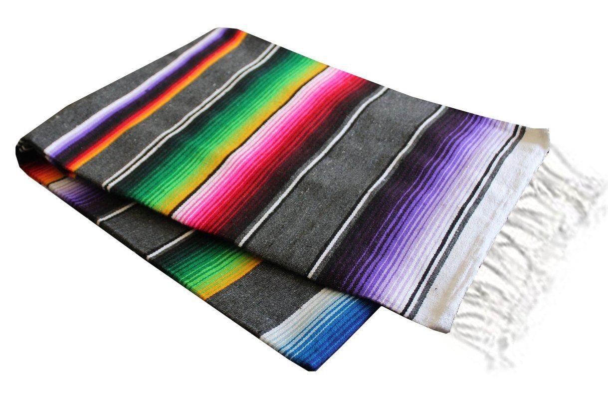 Criddle Blanket Serape Blanket Blanket Mexican Serape Blanket