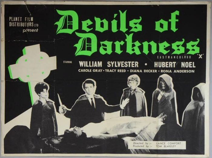 Devils of Darkness (1965) | Matinees That Witness Madness ...