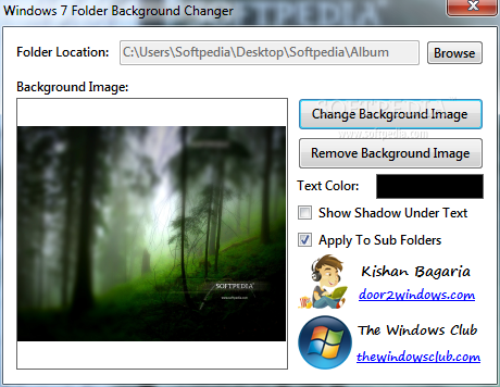 Windows 7 Folder Background Changer Download Change Background Background Text Image