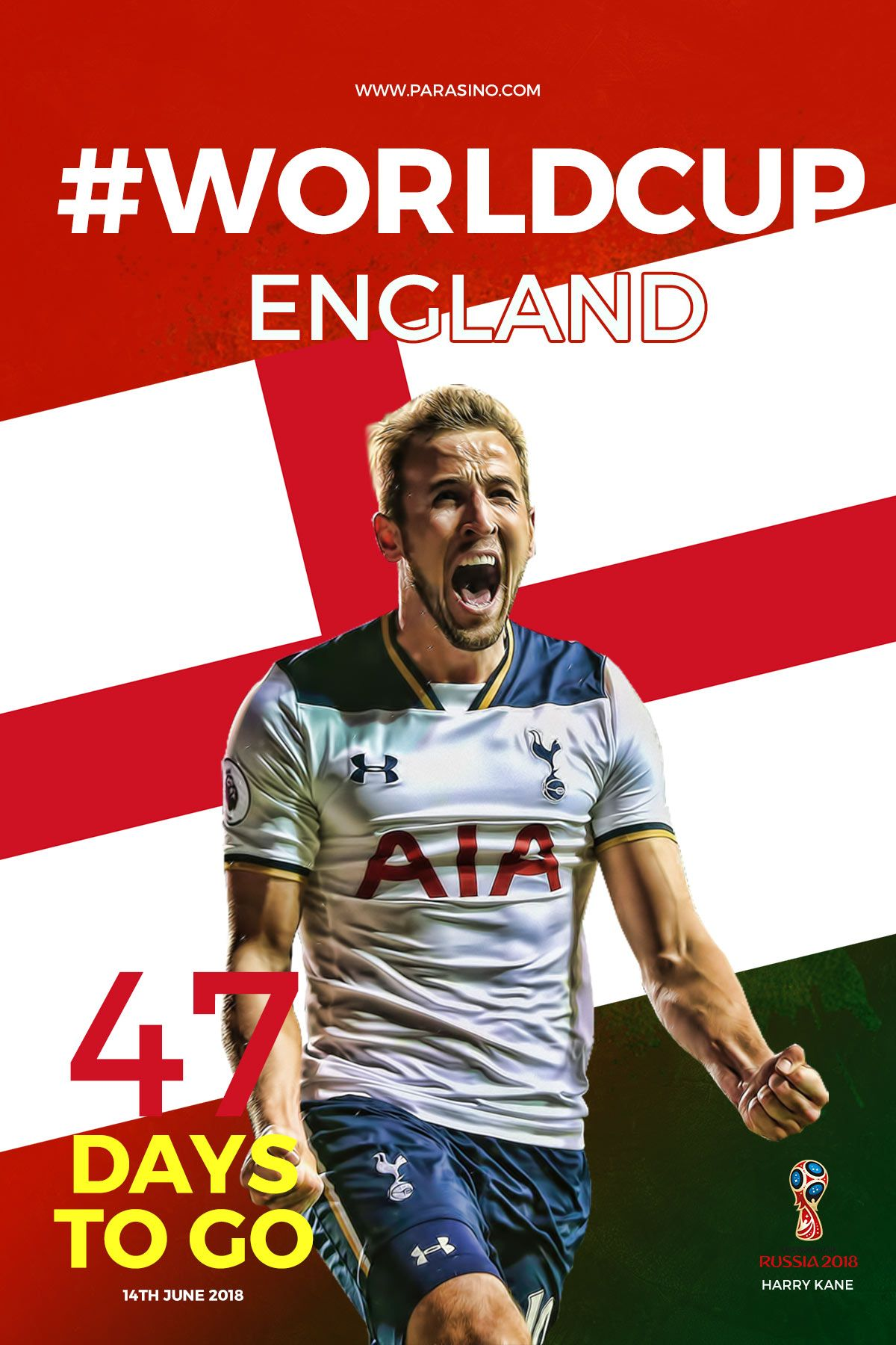 worldcup england parasino 47 DAYS TO GO https//www