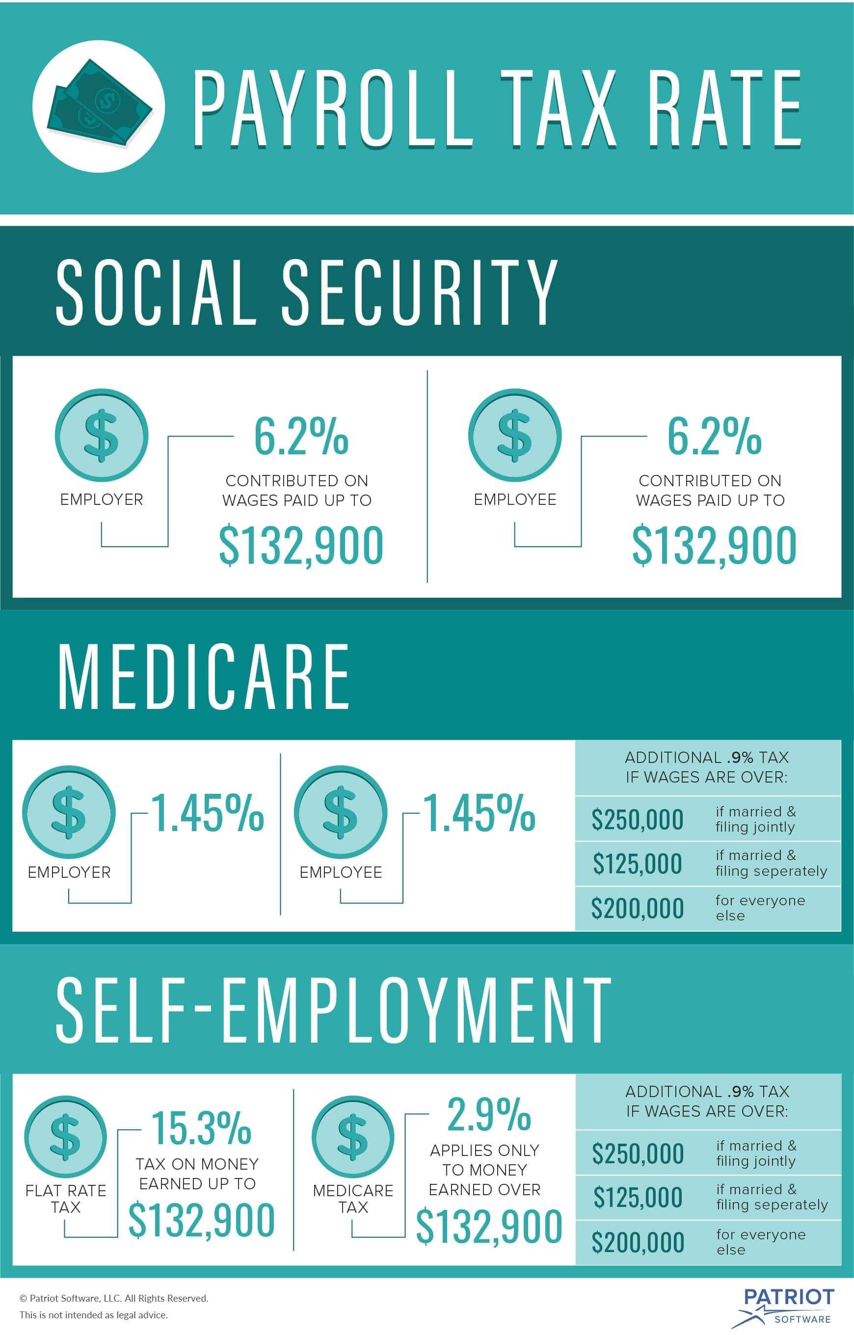 What Are Payroll Taxes? Payroll taxes, Payroll, Business tax