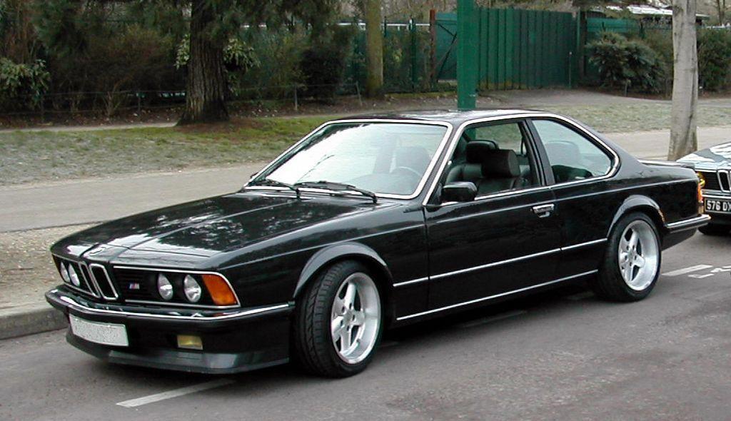 1985 Bmw M6 Bmwclassiccars Bmw E24