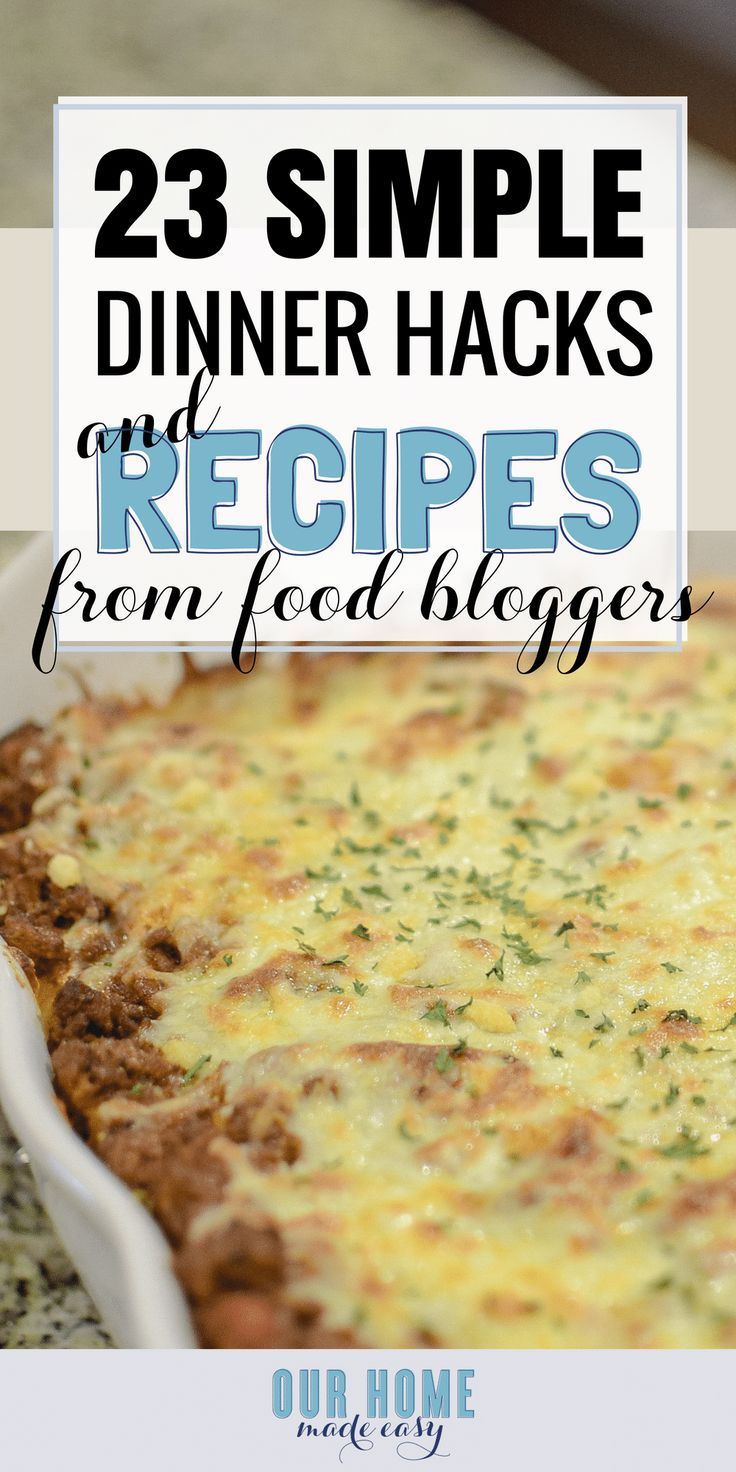 How to make dinner easier according to the best food bloggers how to make dinner easier according to the best food bloggers pinterest recipe recipe dinners and easy forumfinder Image collections