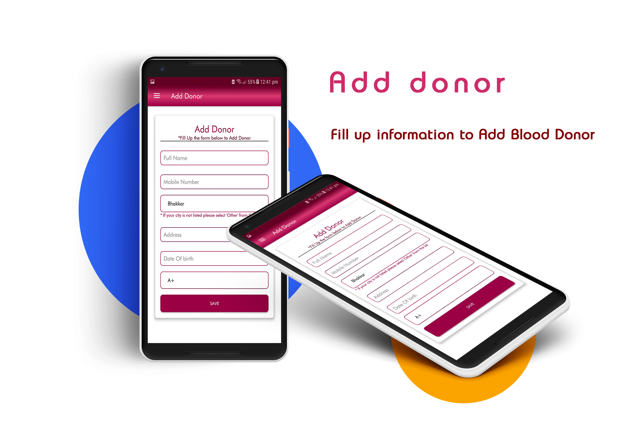 Design Bank Wit.Blood Bank App With Material Design V1 2 In 2019 Art Material
