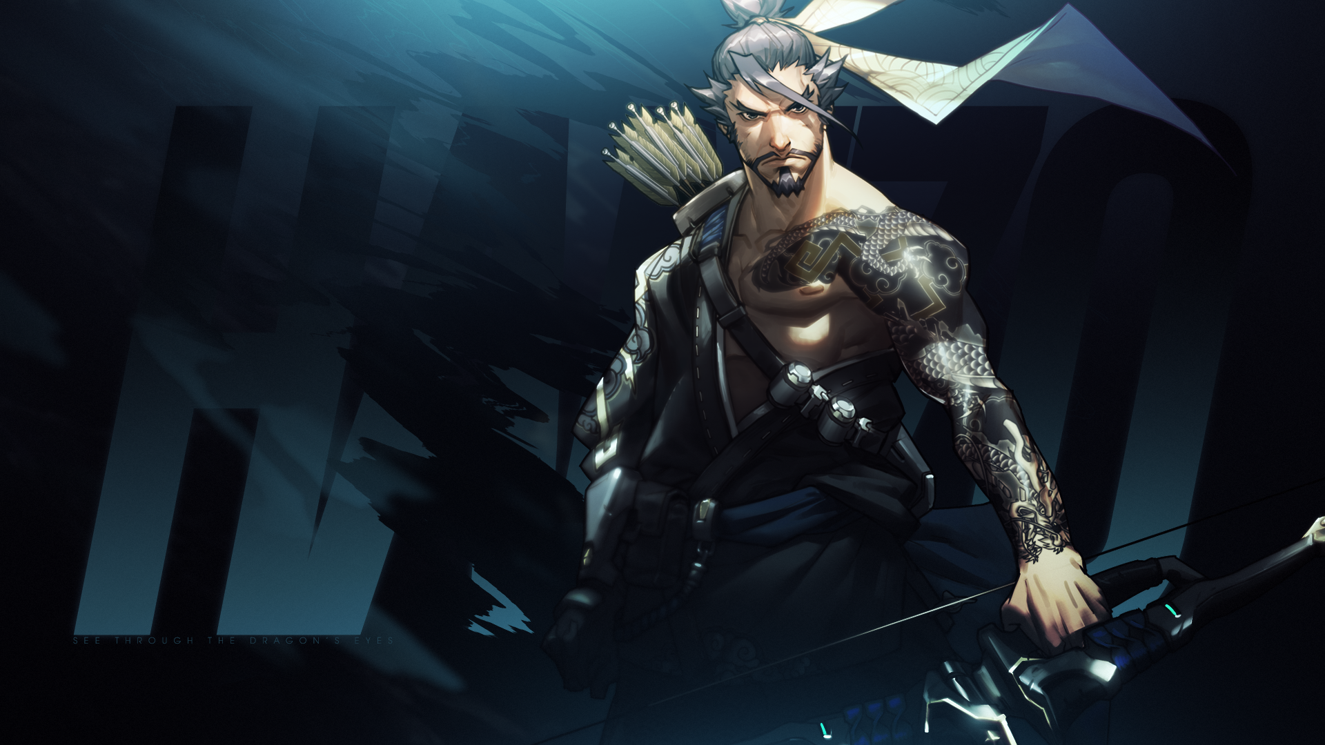 Overwatch Hanzo Wallpaper By Mikoyanx Png 1920 1080 Overwatch Wallpapers Overwatch Hanzo Overwatch