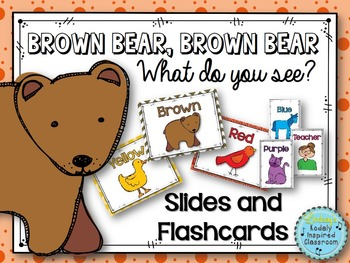 Brown Bear Music Lesson Manipulatives Flashcards Kindergarten