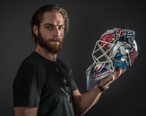 Hunks Of Hockey On Instagram Because I M Feelin The Goalies Today How About You Braden Holtby Wa Washington Capitals Hockey Capitals Hockey Braden Holtby