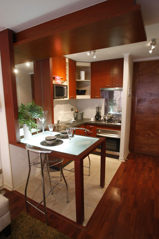 Küchendesign einfach klein cocina  edificio infinito  pinterest
