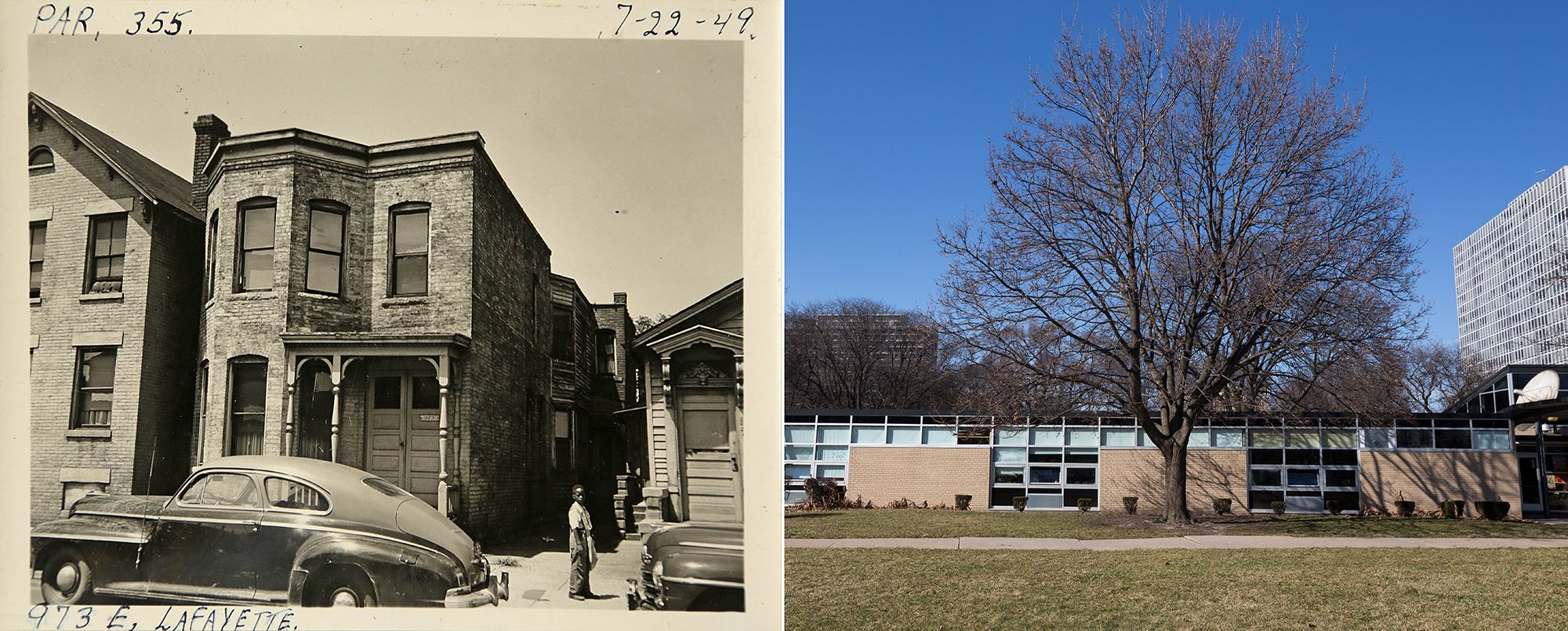 Detroit's Black Bottom neighborhood: See it then and now