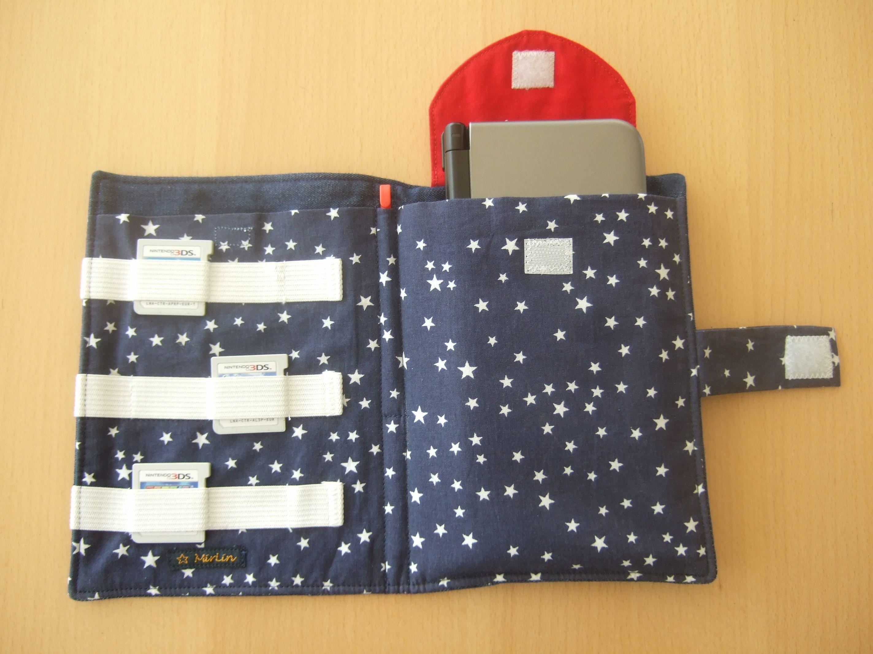 Tasche für Nintendo 3DS XL | Sewing | Pinterest | Nähen, Selbst ...