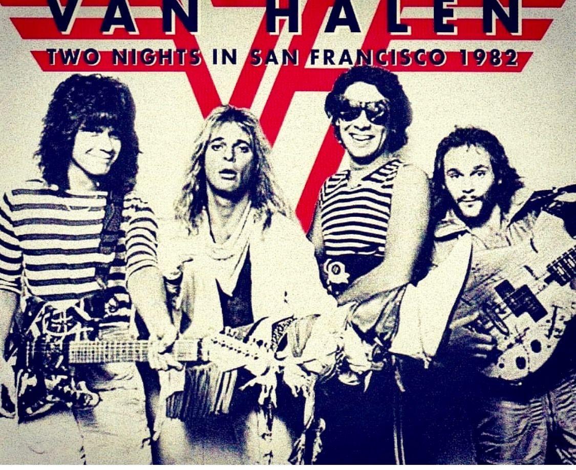 Vh 82 Music Pics Van Halen Eddie Van Halen