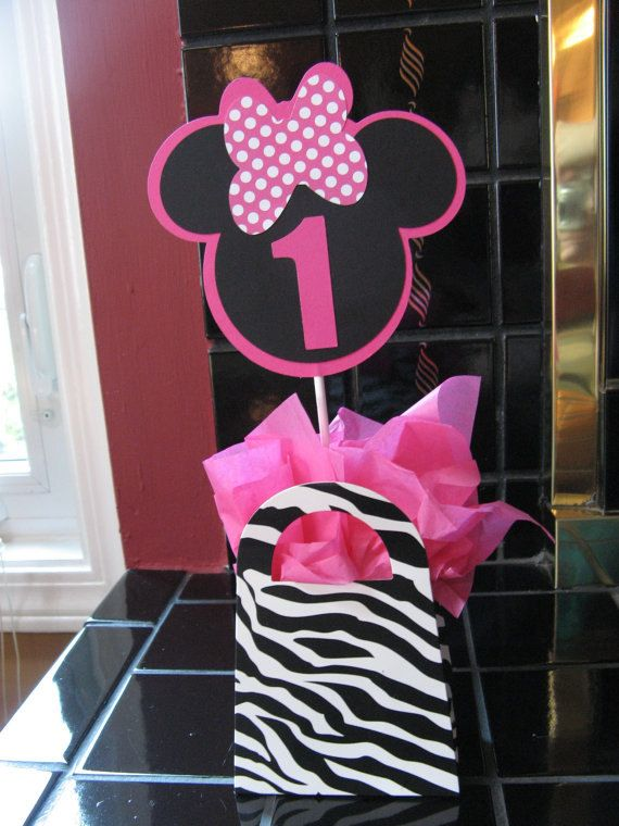 minnie mouse birthday party centerpiece ideas Google Search Ella