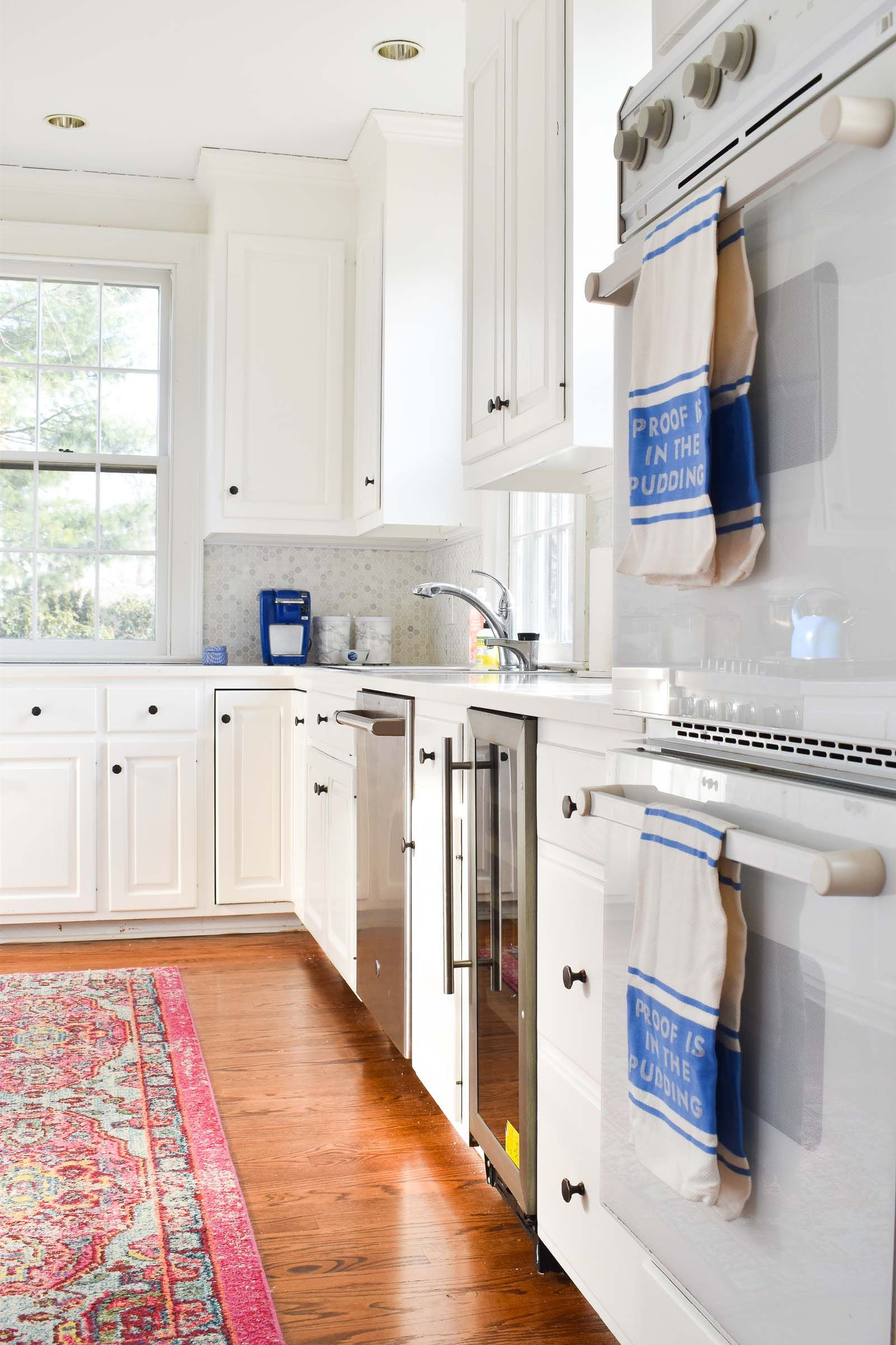 Bright Updated Kitchen Reveal | Mobile home kitchen ...