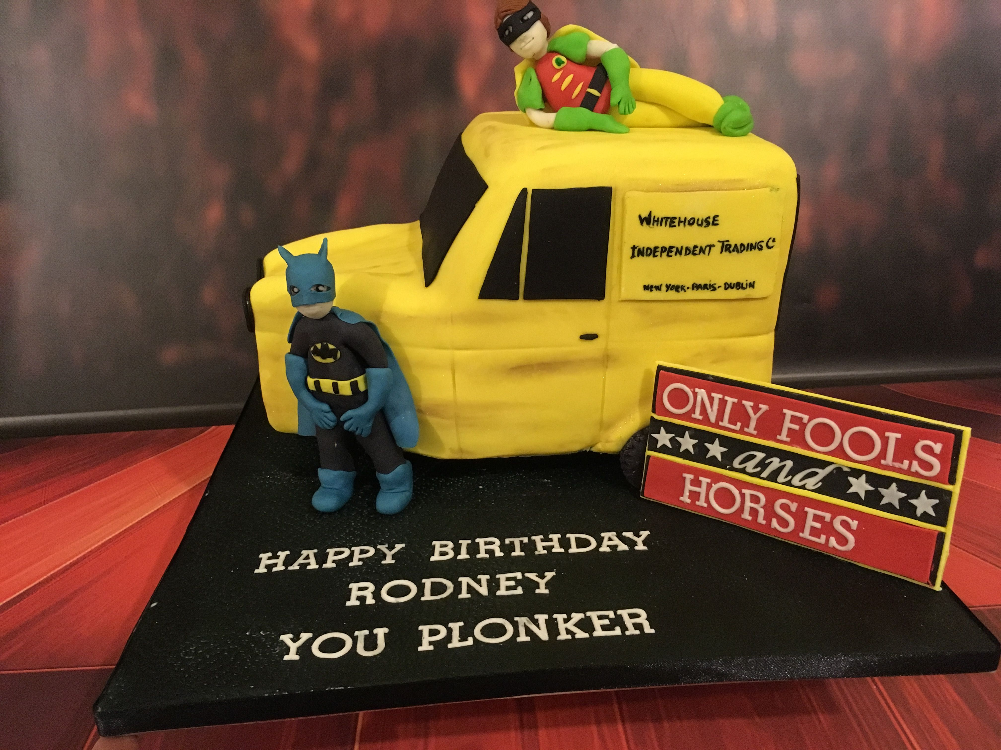 Only Fools and Horses Cake.