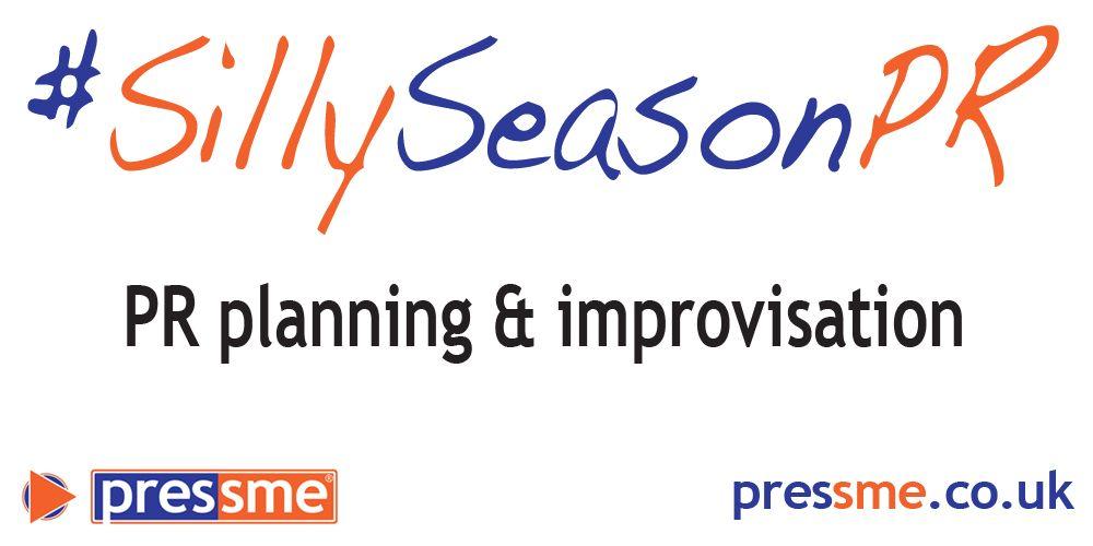 PR planning and improvisation