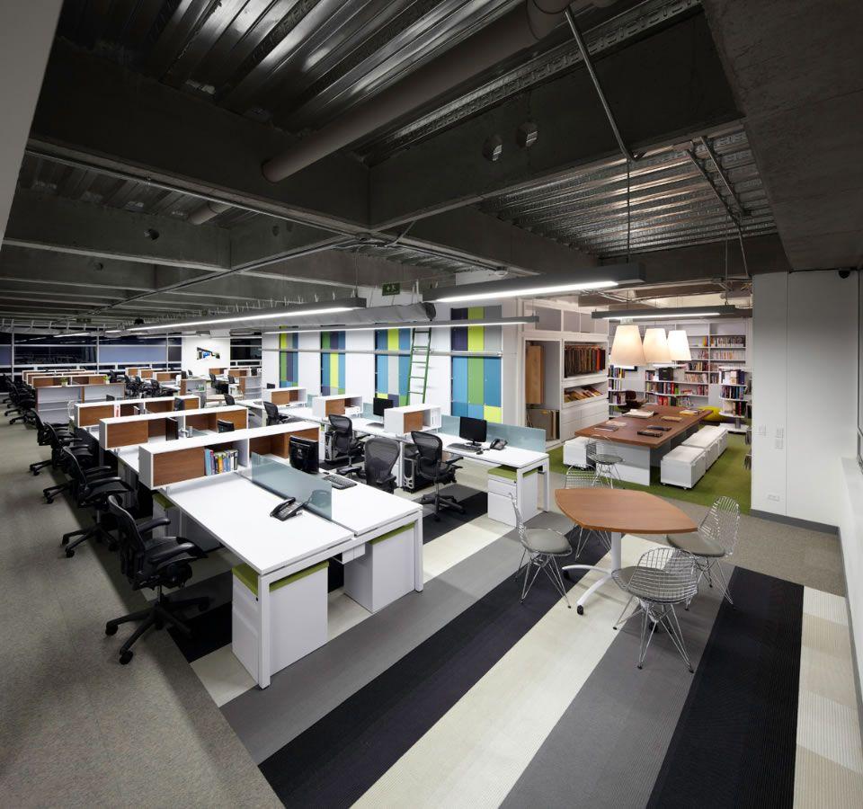 Aei architecture and interiors office by aei arquitectura e interiores office snapshots