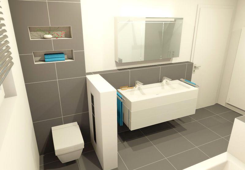 Badplanung Beleuchteter Kosmetikspiegel Kleine Badezimmer Badezimmer Innenausstattung Badezimmerideen