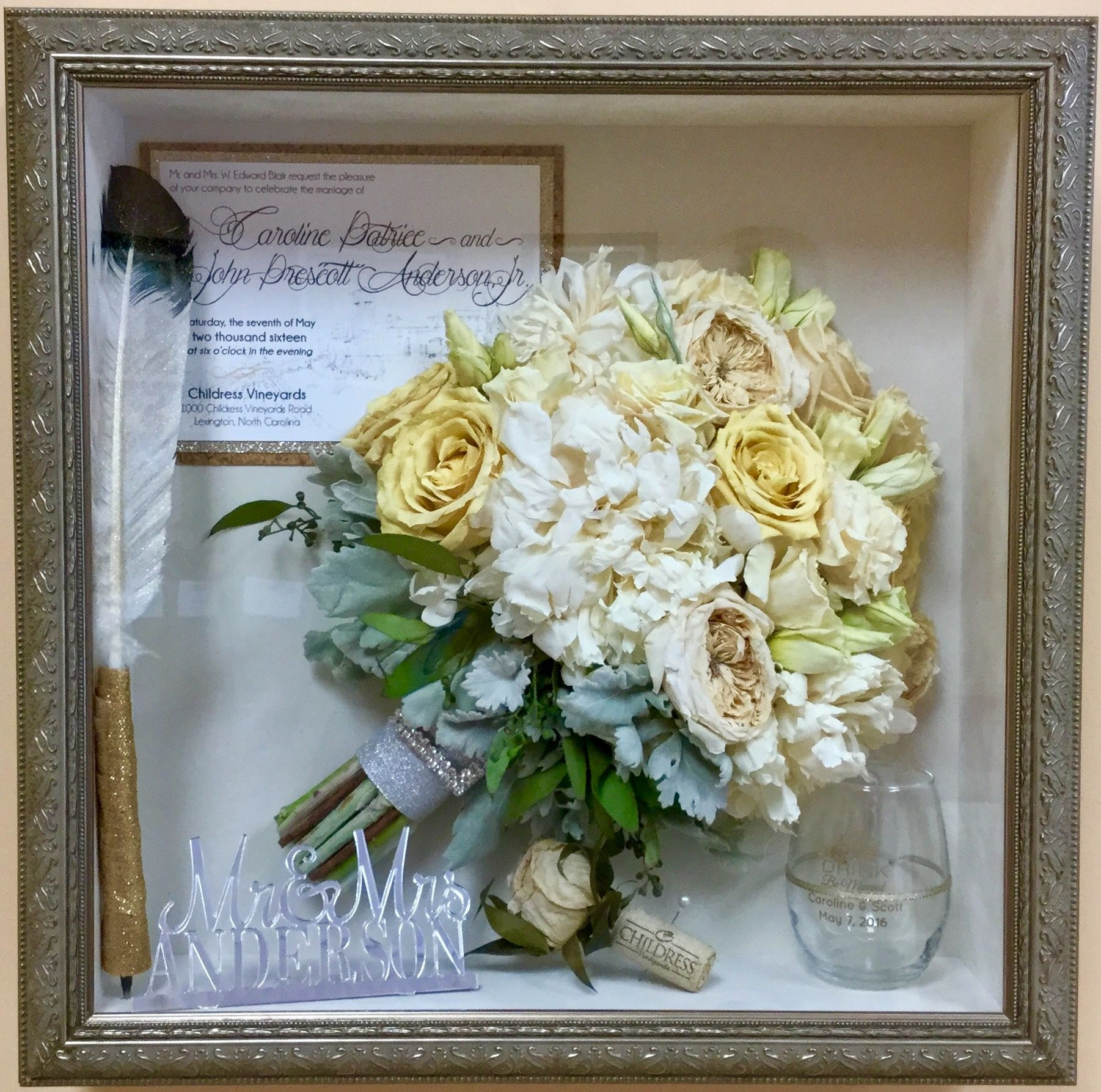 Remember Your Wedding Forever With Our Unique Bouquet Preservation