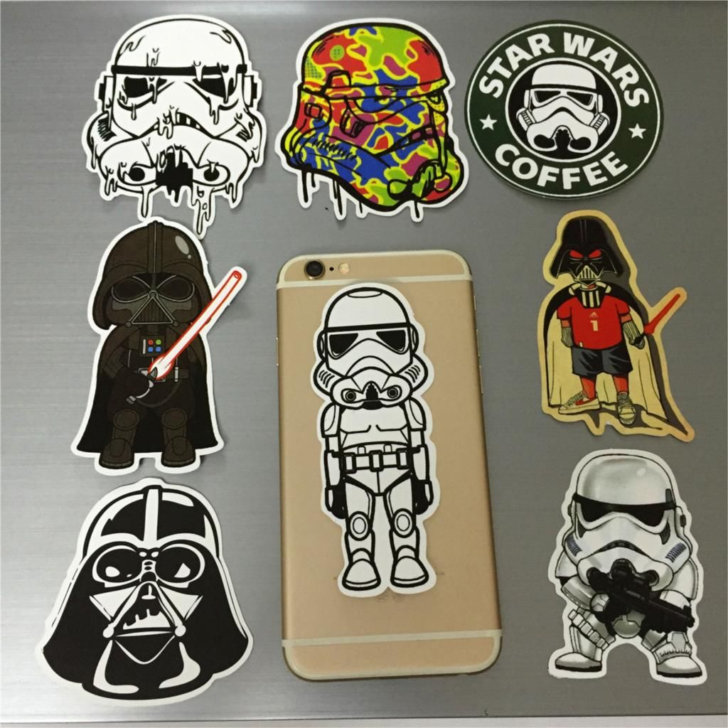 8pcs Glossy Waterproof Removable Doodle Decoration Car Styling Cool Car Stickers For Tablet Mobile Laptop Motorcycle B Cool Car Stickers Car Stickers Cool Cars [ 1024 x 1024 Pixel ]