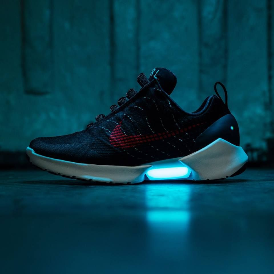 """huge discount 625ba b4ce0  Nike Hyperadapt 1.0 """"Red Lagoon"""" Athletic Trends, White Sneakers, Sneaker  Boots"""