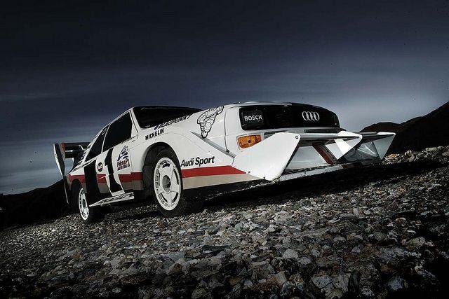 Audi Sport Quattro S1 Pikes Peak Front Spoiler Pikes