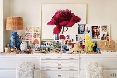 Aerin's little office