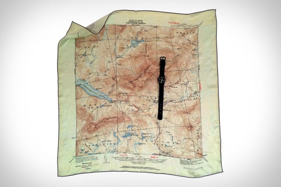 Burnt Point Lodge Silk Maps | I Want | Map, Custom map, Map art