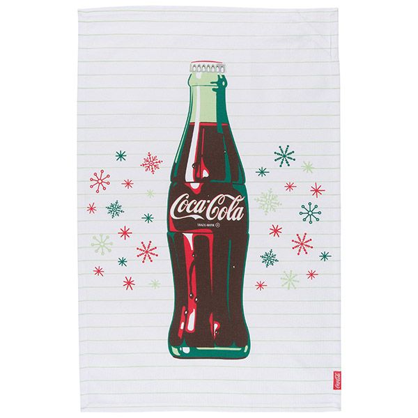Cola · Stars Snowflakes Coca Cola Kitchen Towel Set
