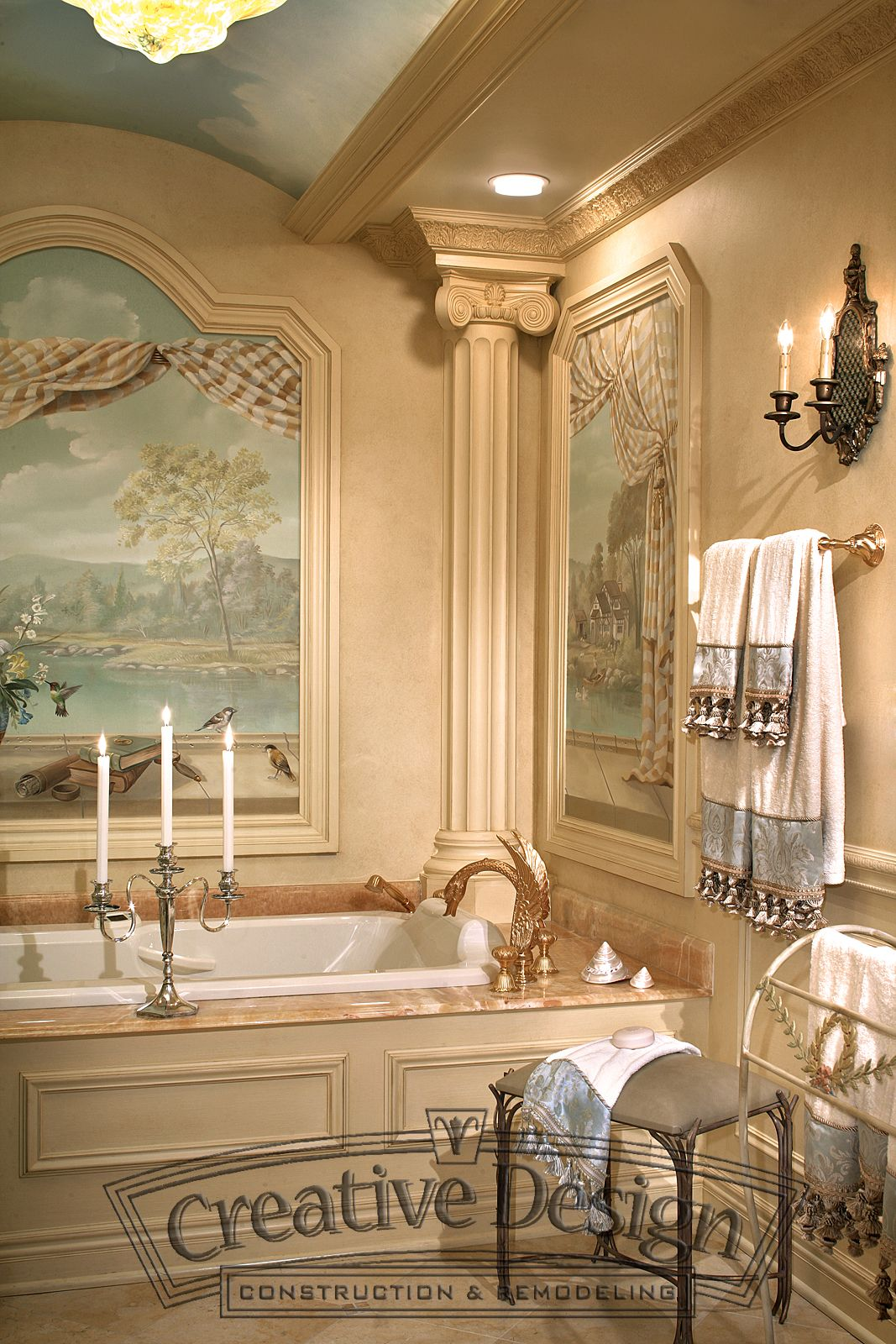 Pin by Creative Design Construction, on Bathrooms | Luxury ...