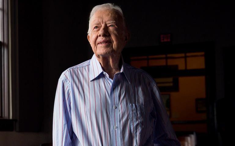 Jimmy Carter Talks Solar Energy Jimmy Carter Solar Energy Solar
