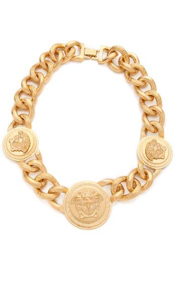 d452b8034176 Versace ~ Medusa Chain Necklace