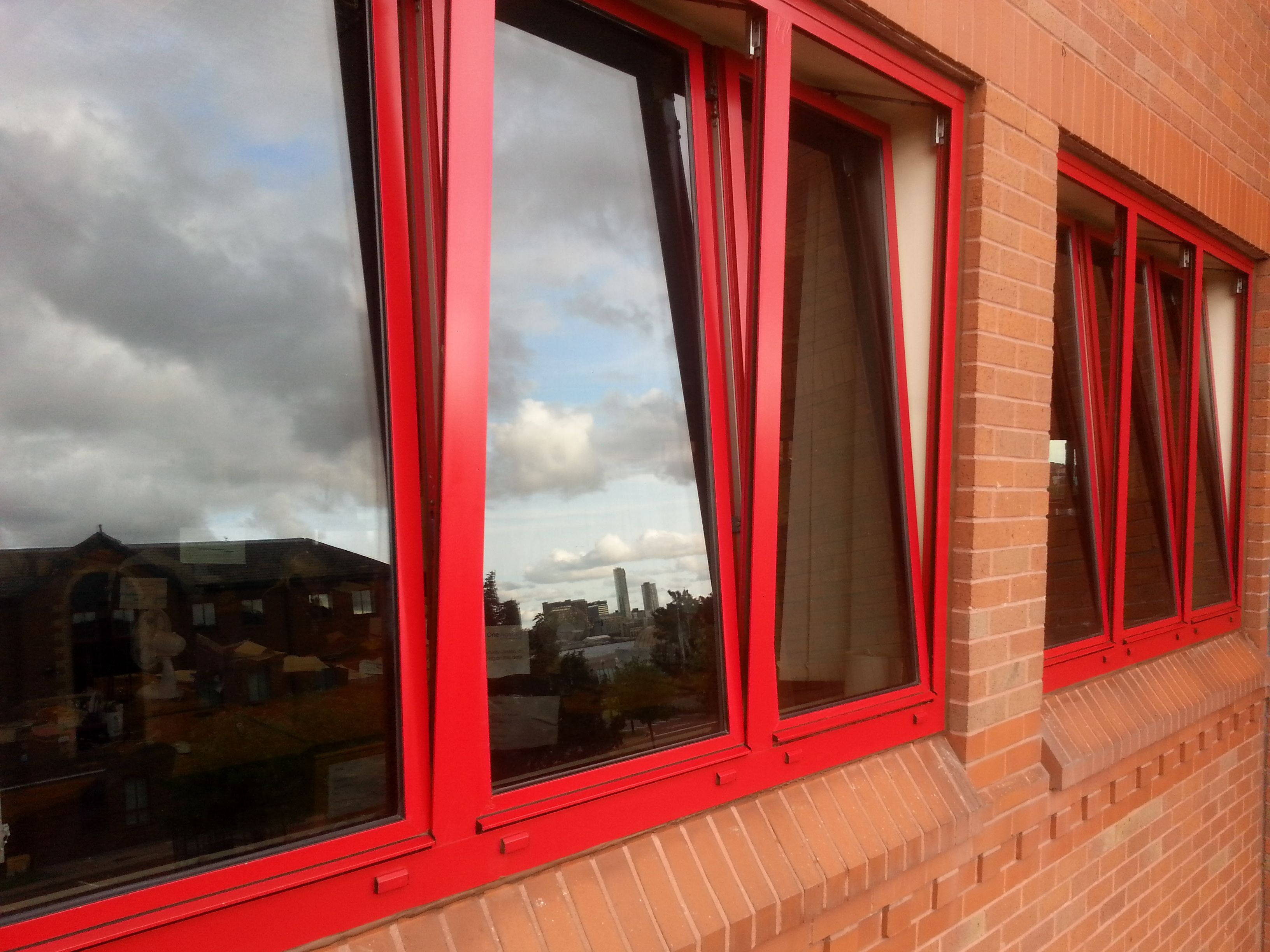 Multiple Aluminium Window Frames that needed clean restore and ...