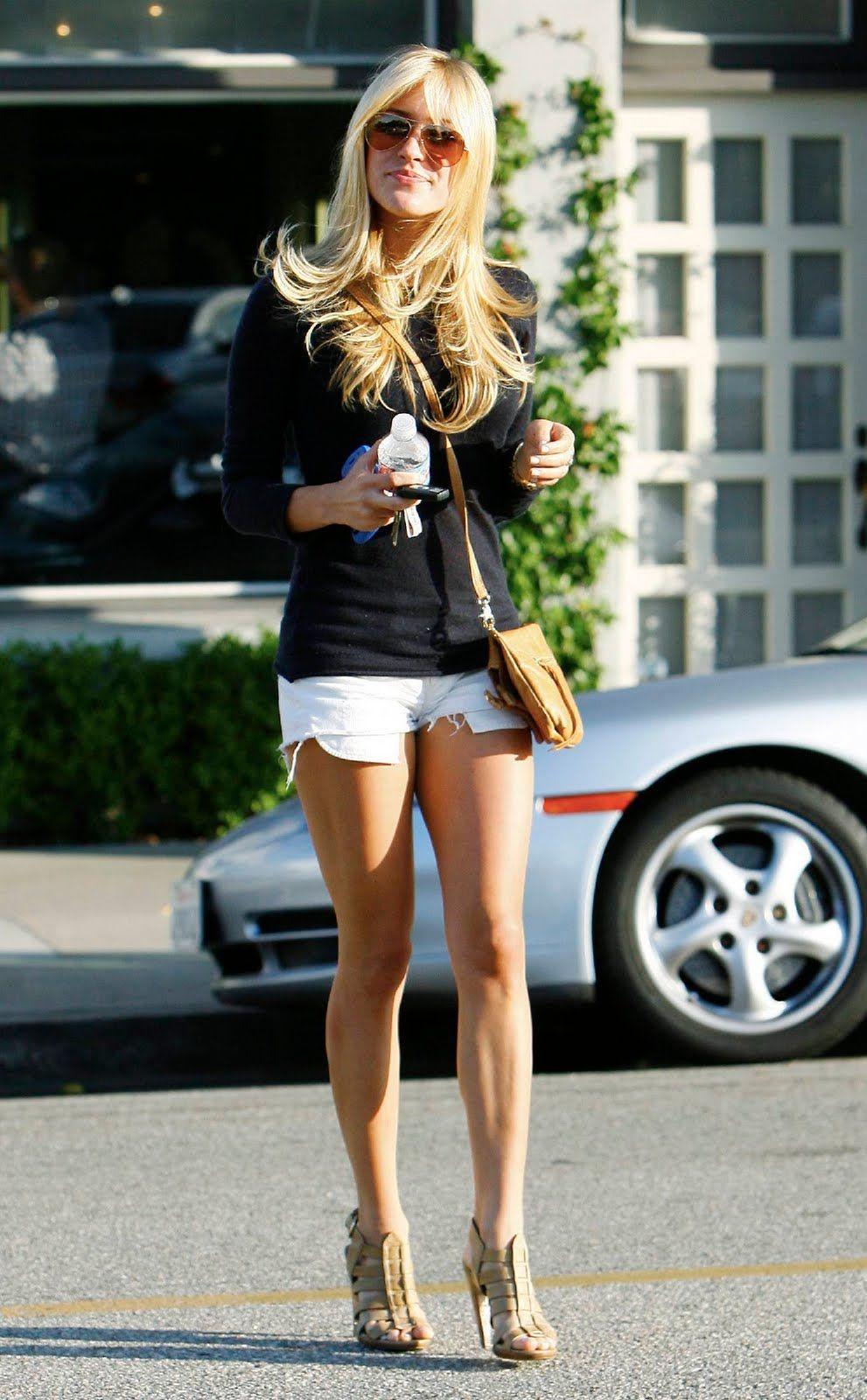 White shorts trendy pinterest kristin cavallari kristin