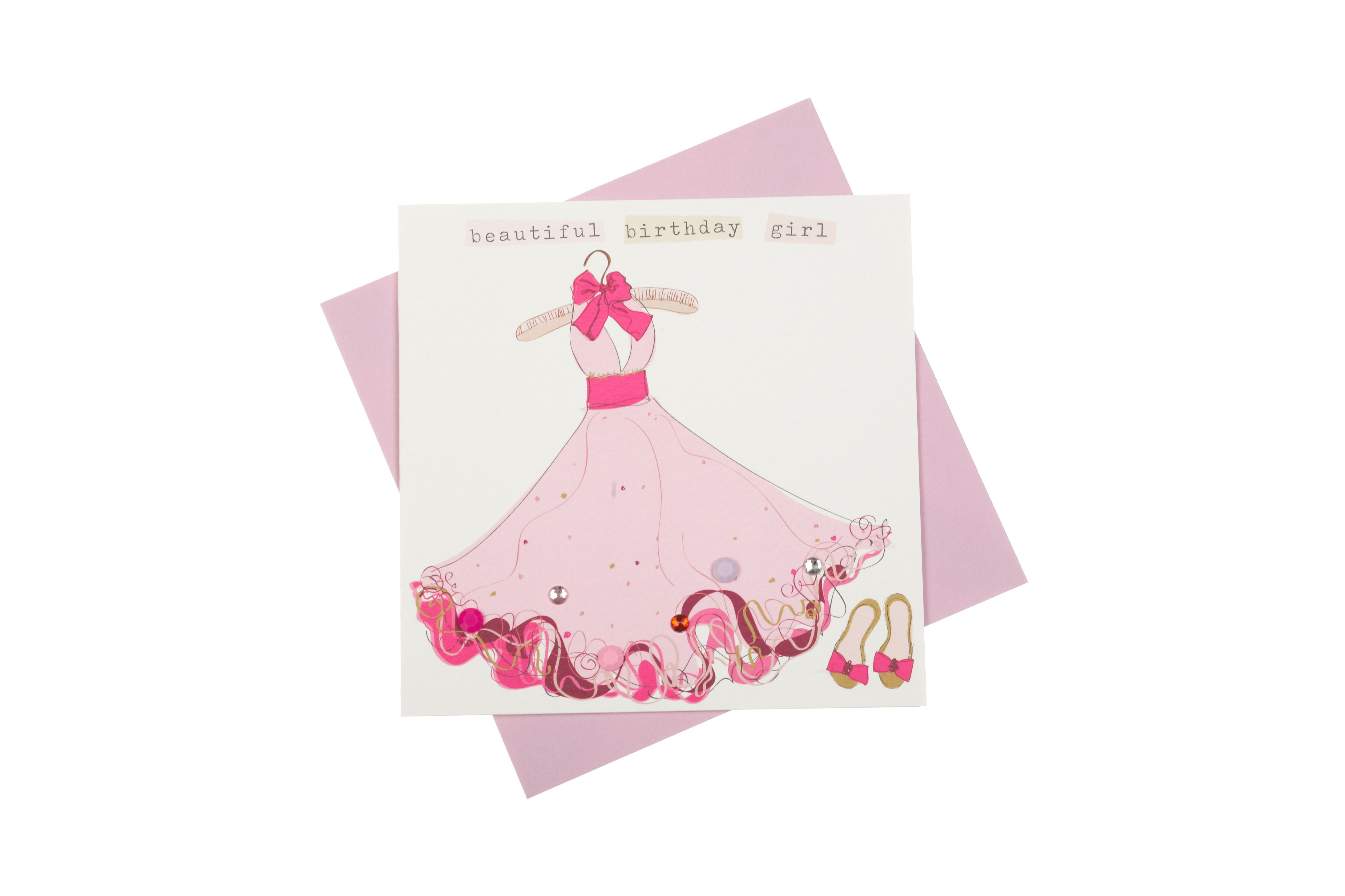 A Fun Birthday Greeting Card Beautifully Hand Finished With