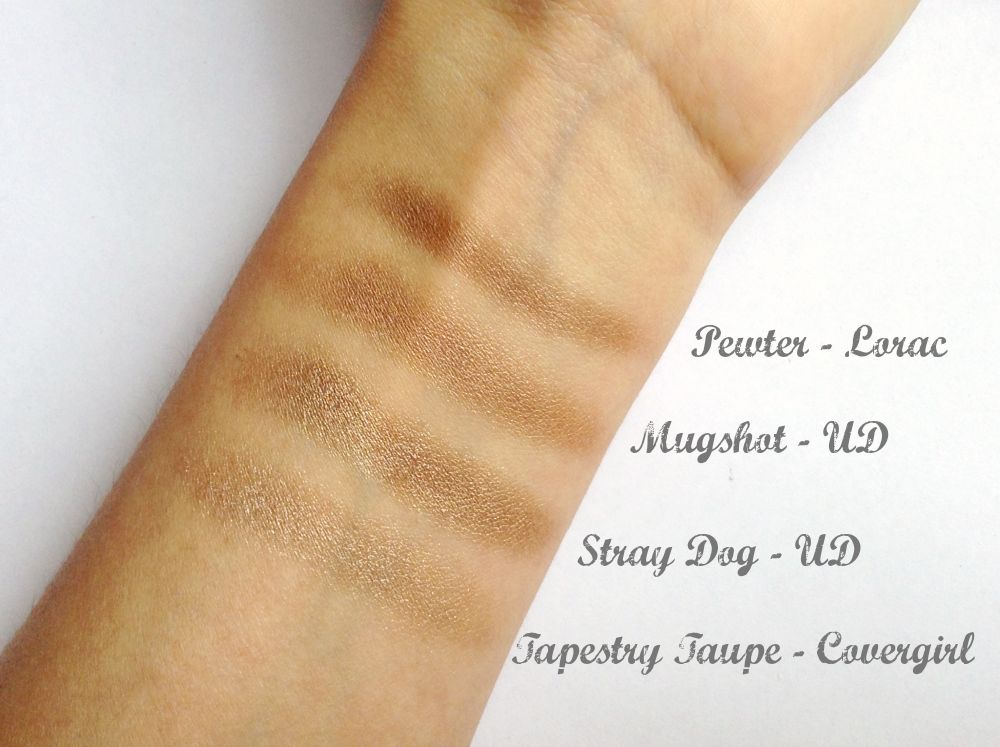 Sombras Taupe - A Batalha | New in Makeup