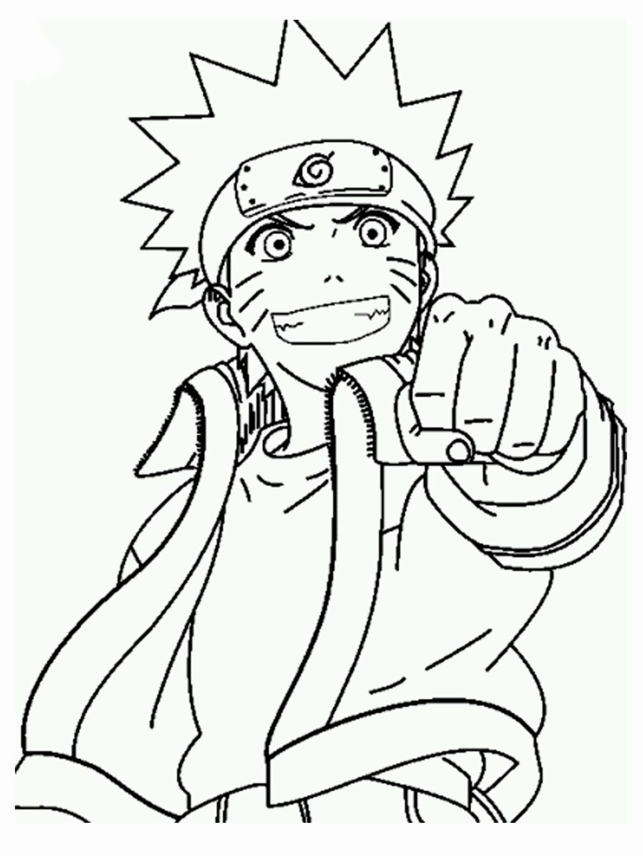 Coloring Book Naruto | Coloring Books | Pinterest