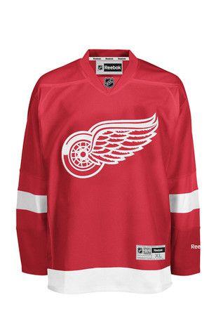 Dylan Larkin Detroit Red Wings Red Practice Jersey  167316bb0