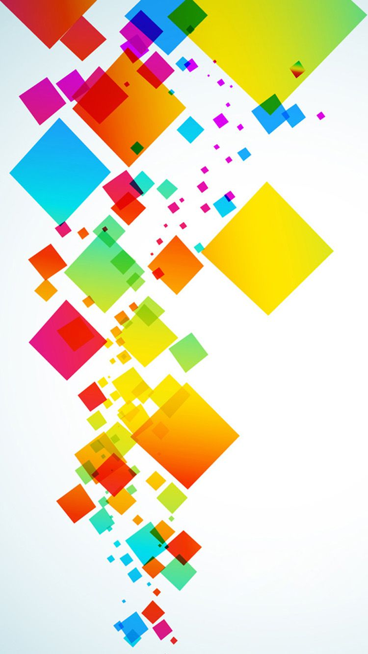 Colorful abstract graphics iPhone 6 Wallpaper | iphone 6 ...