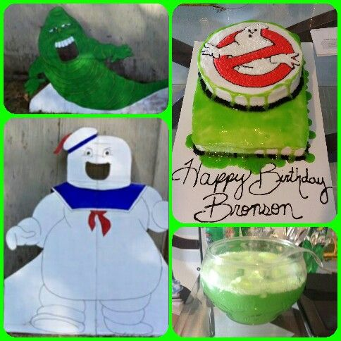 Bronson's 8th Birthday party! Ghostbusters theme