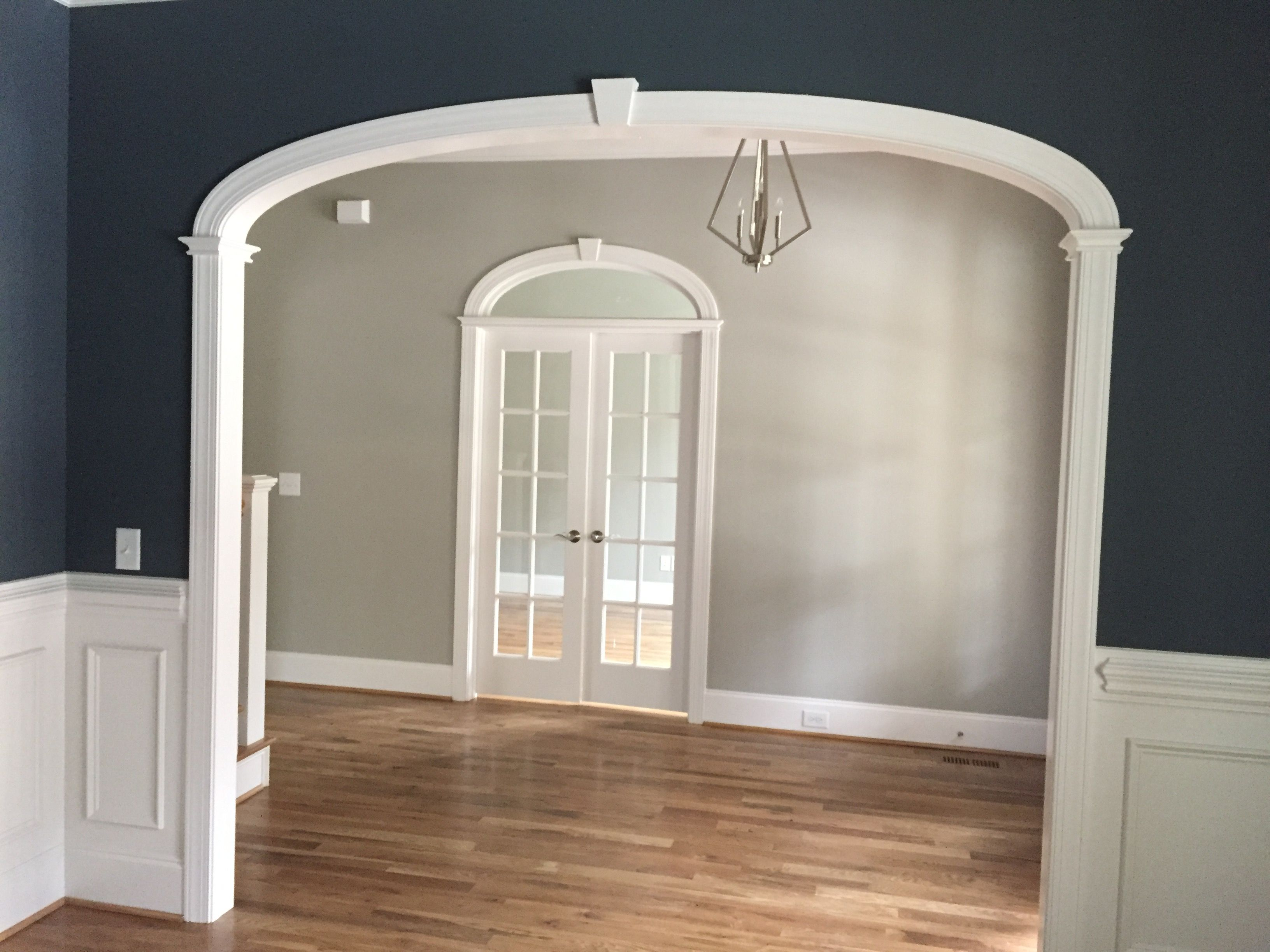 arch doors for office entry dining room archway opening