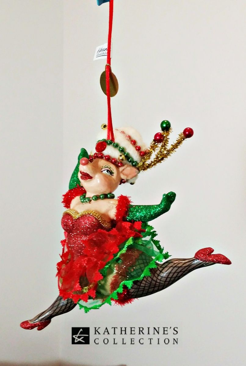 Katherine S Collection Christmas Tree Reindeer Ornament Decorations Online