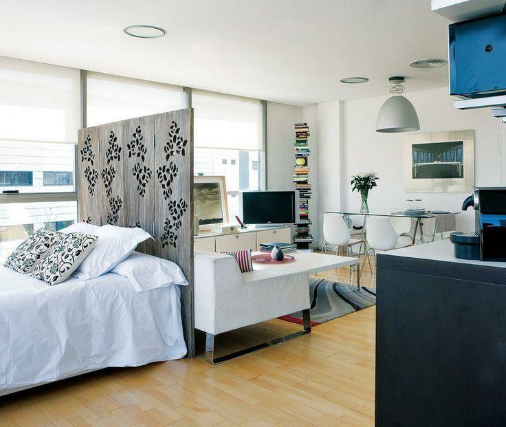 85+ Apartamentos pequenos decorados incríveis  Ambiente, Casas moveis e Quit