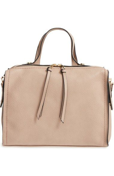 Emperia Faux Leather Satchel available at #Nordstrom