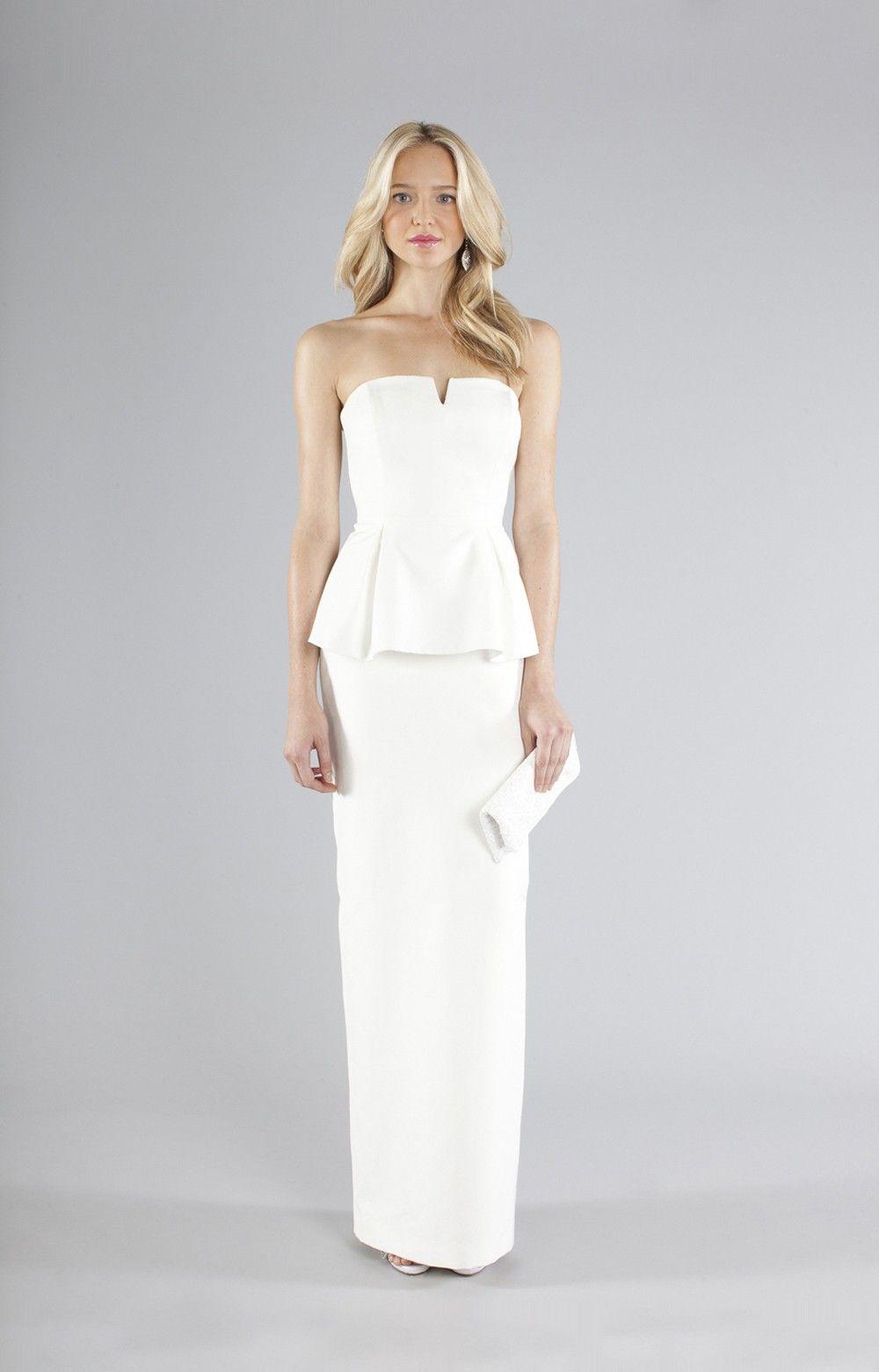 Merril Bridal Gown by Nicole Miller   style   Pinterest   Vestidos ...