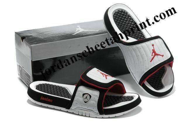 3cec30be332 Cheap Air Jordans 14 Massage Slippers White/Red/Black   Sport Shoes    Jordans, New jordans shoes, Discount jordans