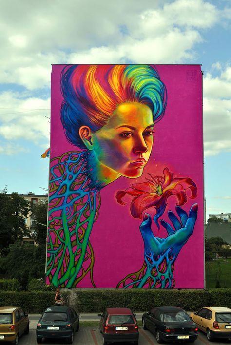 Peinture Illustrations Street Art Natalia Rak 4 Illustrations par