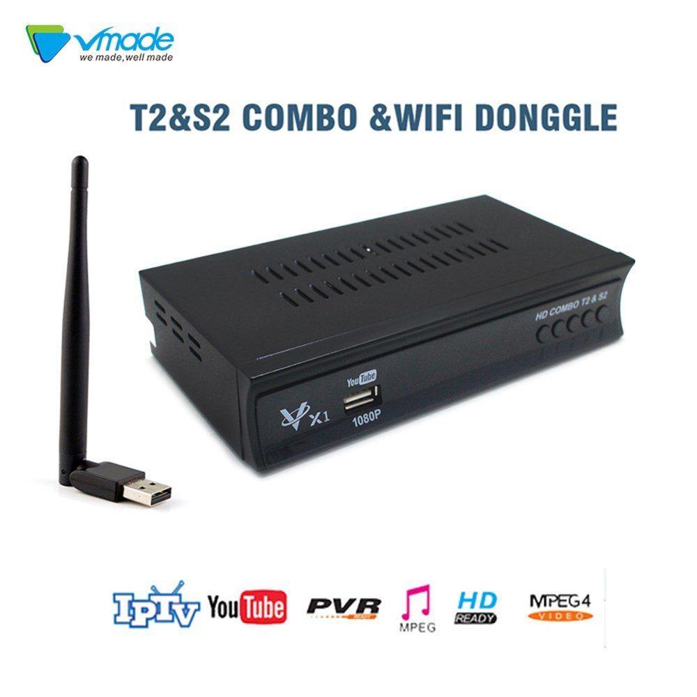 Dvb T2 Dvb S2 Full Hd 1080p Digital Terrestrial Satellite Receiver Combo Support Iptv Youtube Dolby Cccam Mpeg4 Set Top Box Di 2019