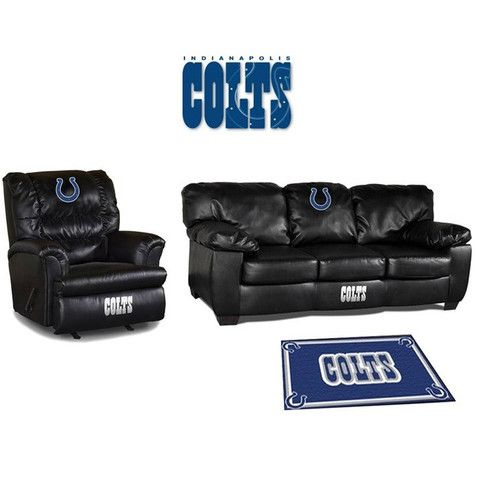 Bon Use This Exclusive Coupon Code: PINFIVE To Receive An Additional 5% Off The  Indianapolis Colts Leather Furniture Set At SportsFansPlus.com