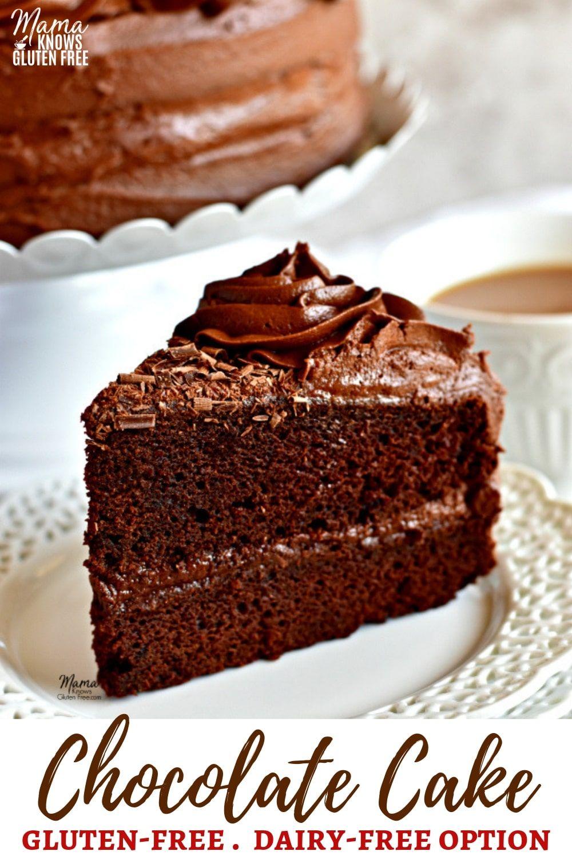 A Super Moist Gluten Free Chocolate Cake With Chocolate Buttercream Fros Gluten Free Chocolate Cake Dairy Free Chocolate Cake Gluten Free Chocolate Cake Recipe