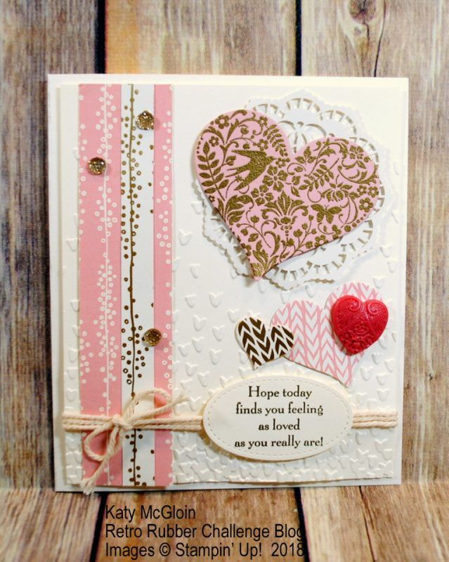 you are loved hearts valentineu0027s day rrcb stampinu0027 up valentine card app